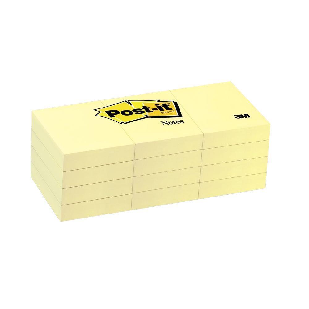 Χαρτάκια Post-it 3M 51x38 12x100Φ 653