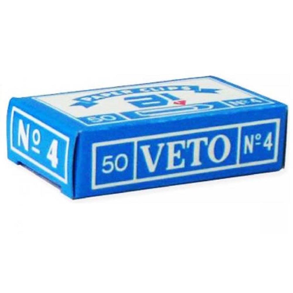 Συνδετήρες Veto Νο 4 μεταλλικοί
