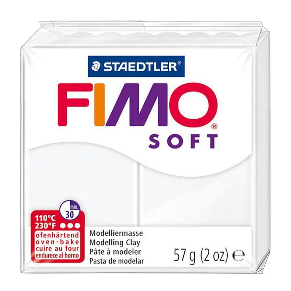 Πηλός Fimo soft 57g Νο0 white
