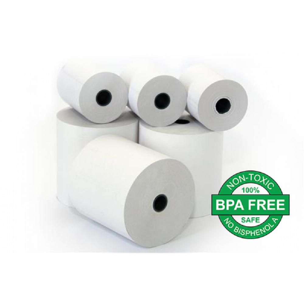 Χαρτοταινία 57x40mm 15m θερμική BPA FREE 48gr