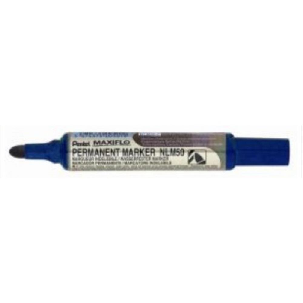 Μαρκαδόρος ανεξίτηλος Pentel NLM 50 μπλε