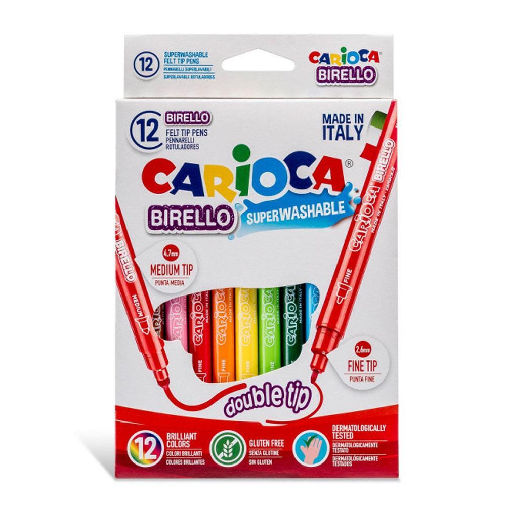 Μαρκαδόροι Carioca birello 12 τεμ. 41457