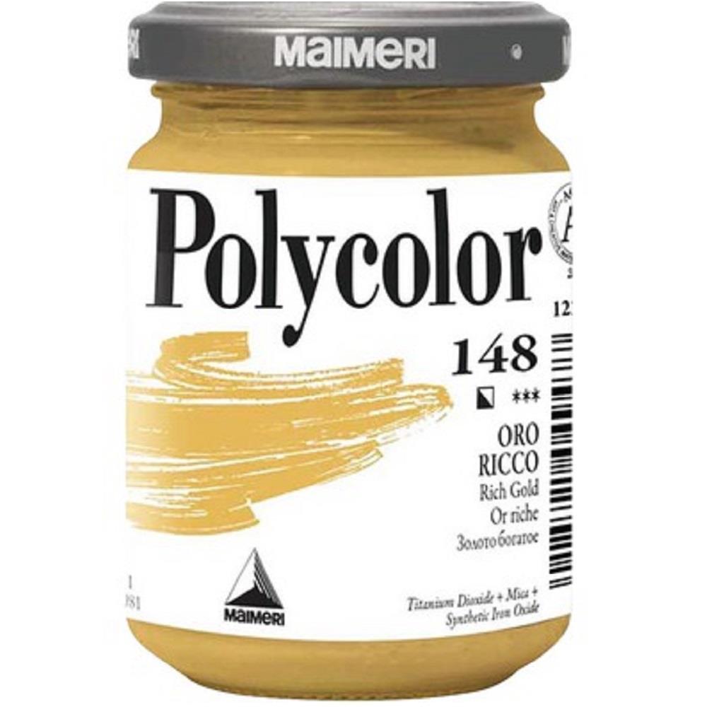 Ακρυλικό Maimeri Polycolor 140 ml 148 gold rich