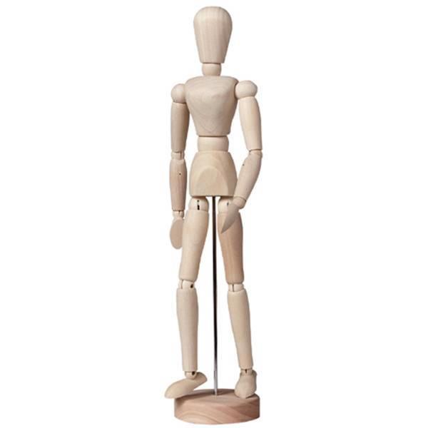 Μανεκέν ξύλινο 30 cm γυναίκα