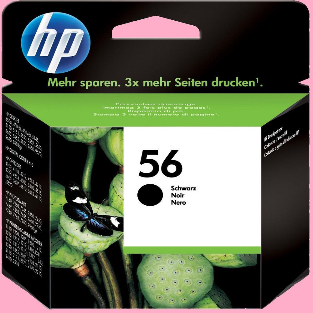 Μελάνι HP 56 black