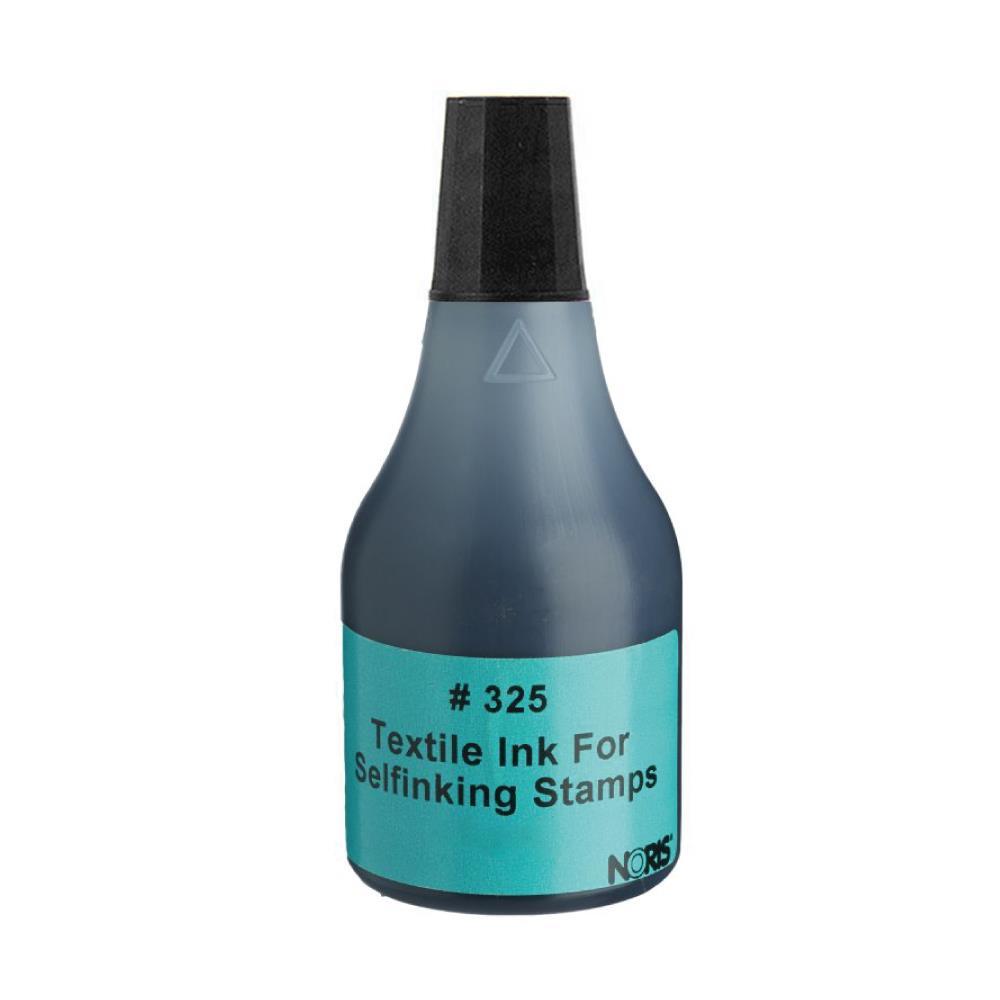 Μελάνι Noris 325 για ύφασμα μαύρο 50 ml