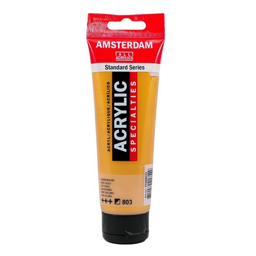 Ακρυλικό Amsterdam 120 ml 803 deep gold