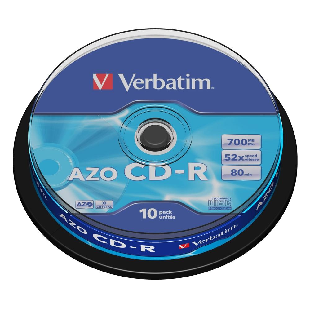 Cd-r Verbatim 43437 πομπίνα 10 τεμ