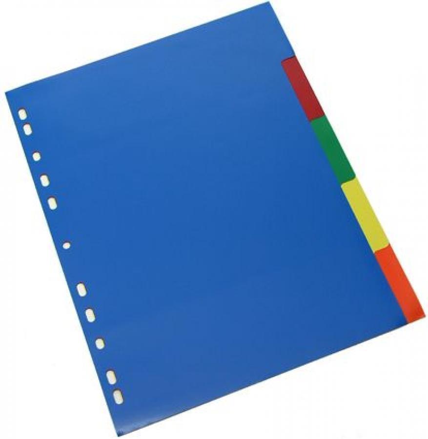 Διαχωριστικά ευρετήρια 1-5 Metron χρωματιστά
