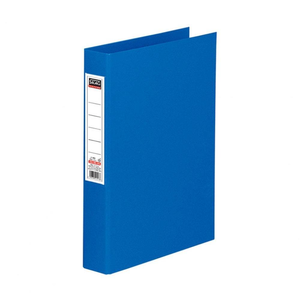 Ντοσιέ Skag Α4 με ετικέτα 4 κρικ μπλε