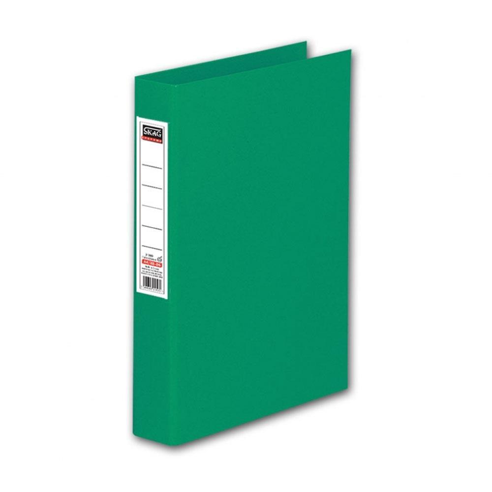 Ντοσιέ Skag Α4 με ετικέτα 4 κρικ πράσινο