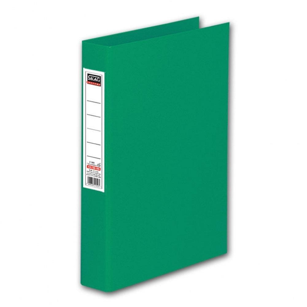 Ντοσιέ Skag Α4 με ετικέτα 2 κρικ πράσινο