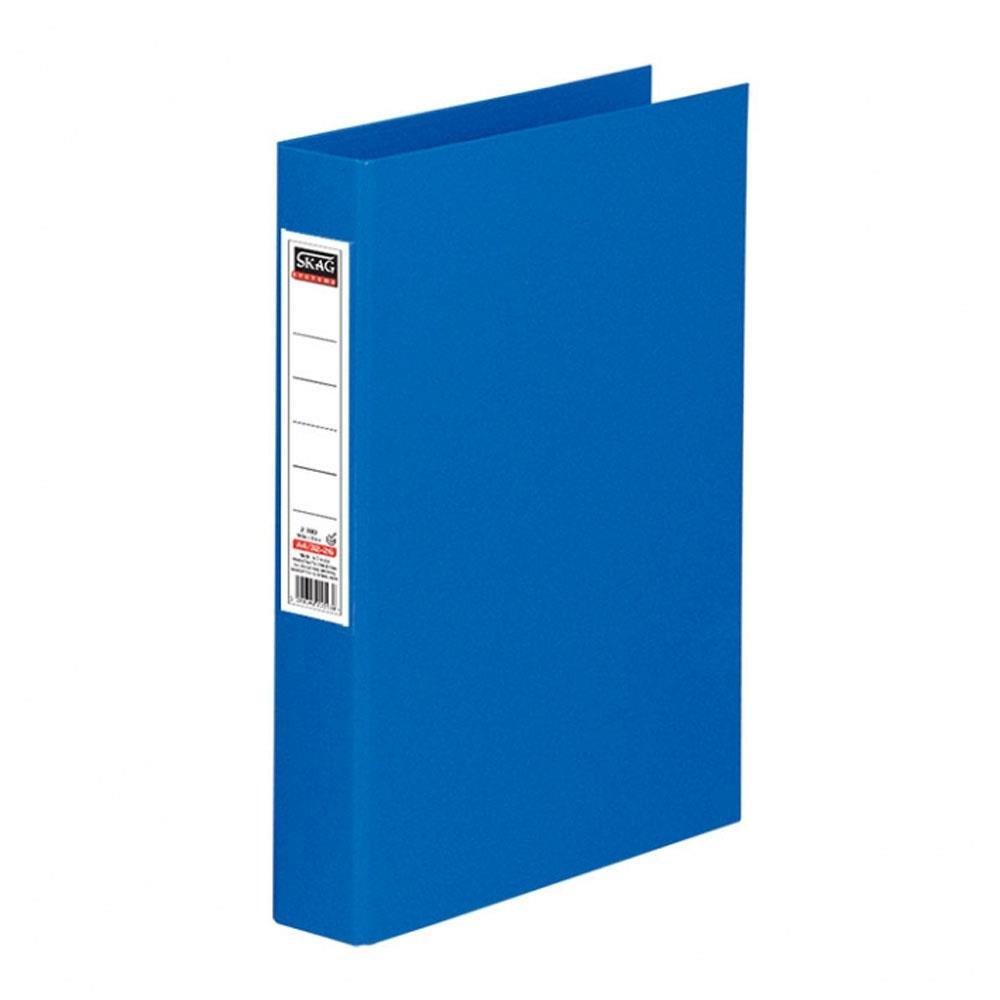 Ντοσιέ Skag Α4 με ετικέτα 2 κρικ μπλε