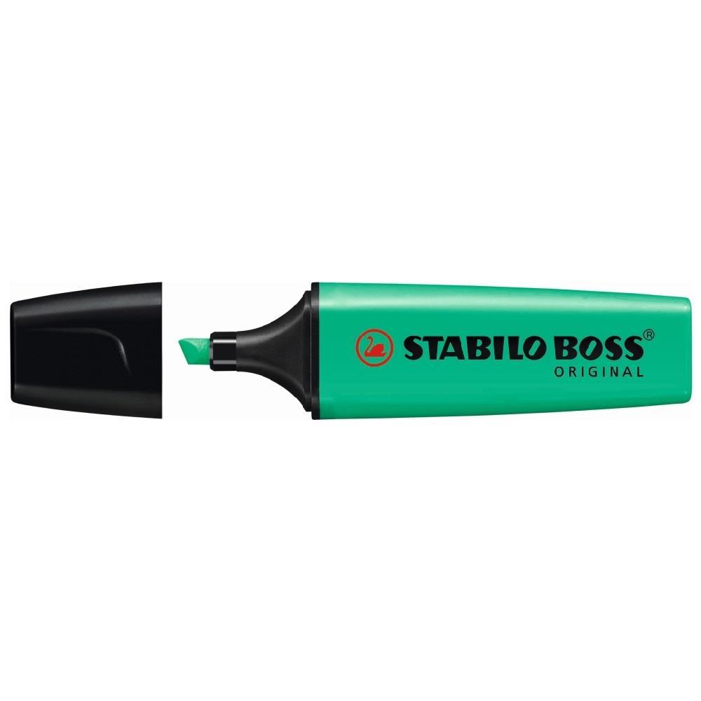 Υπογραμμιστής Stabilo boss πράσινο 51
