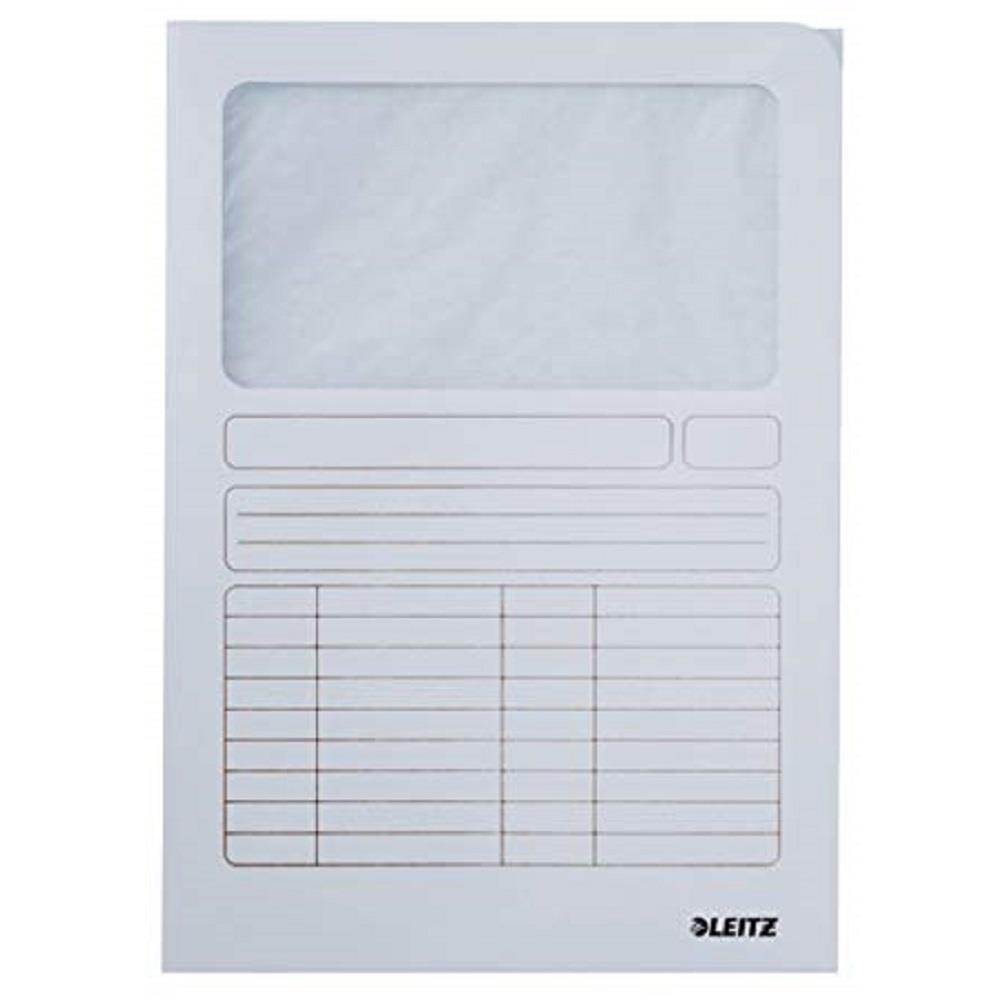 Ντοσιέ με παράθυρο Leitz 3950 λευκό