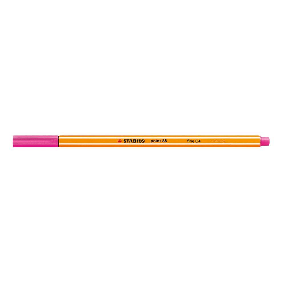 Μαρκαδοράκι Stabilo point 88 pink 56
