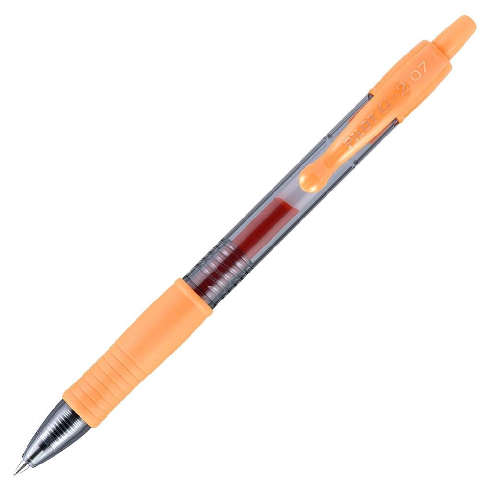 Στυλό Pilot g2 0,7 πορτοκαλί
