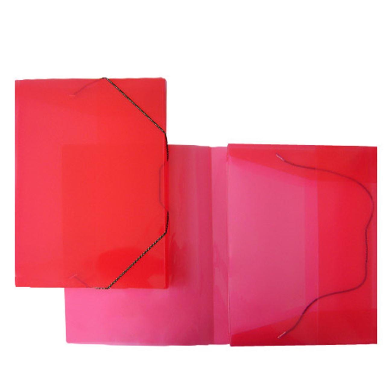 Κουτί λάστιχο 25x33x3 cm οπάλ κόκκινο