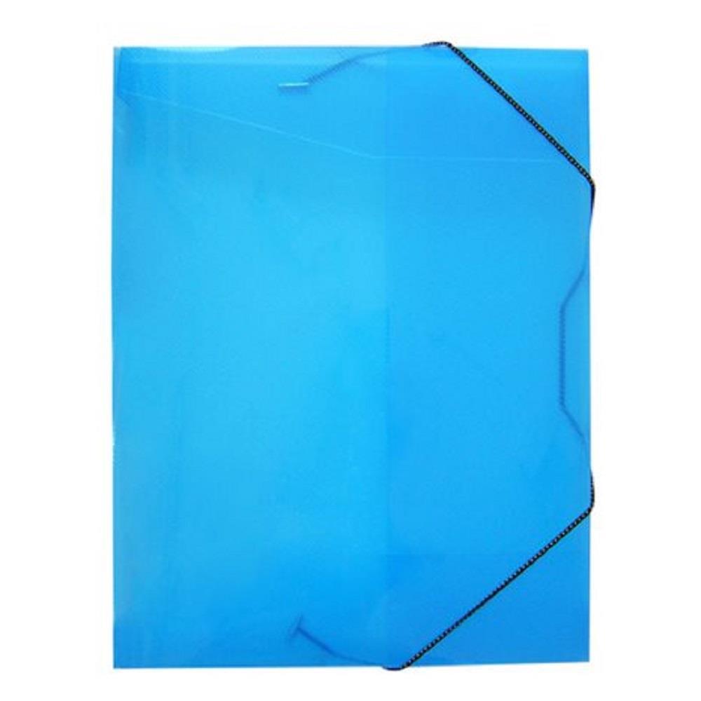 Κουτί λάστιχο 25x33x3 cm οπάλ μπλε