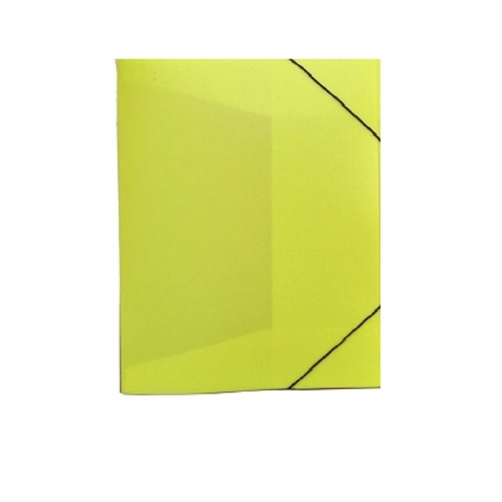 Κουτί λάστιχο 25x33x3 cm οπάλ κίτρινο