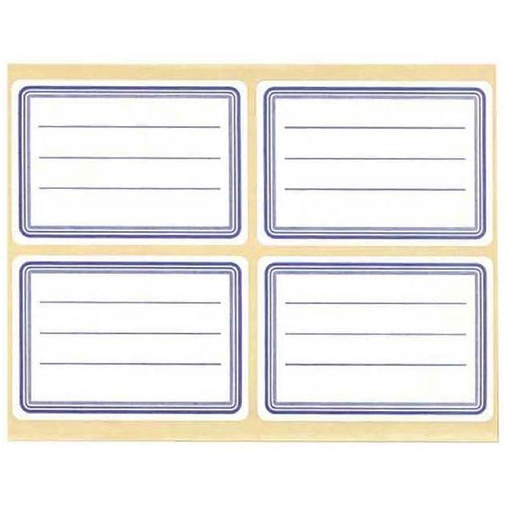 Ετικέτες σχολικές Stef Labels 1 φύλλο 4 ετικέτες