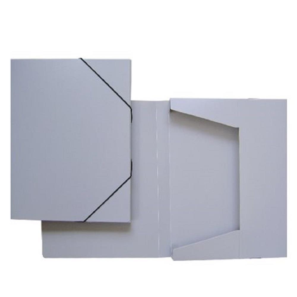 Κουτί λάστιχο 25x33x3 cm γκρι ματ