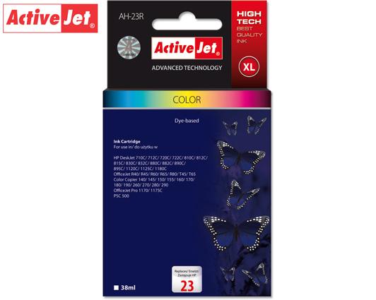 ACTIVE JET INK ΓΙΑ HP #23  C1823DXL TRICOLOR ΑΗ-823 39ml (Α)