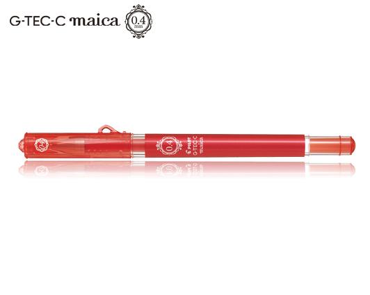 PILOT ΣΤΥΛΟ G-TEC-C MAICA 0.4mm ΚΟΚΚΙΝΟ