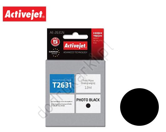 ACTIVE JET INK ΣΥΜΒΑΤΟ ΜΕ EPSON AE-2631N #26XL BLACK 12ml (Ν) #C13T26314012