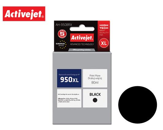 ACTIVE JET INK ΣΥΜΒΑΤΟ ΜΕ HP AH-950BRX #950XL BLACK 80ml (Α) #CN045AE
