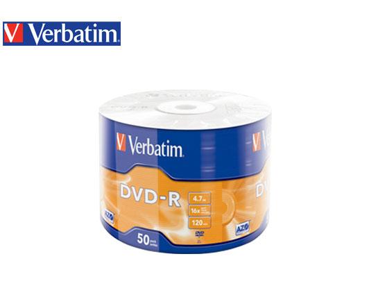 VERBATIM DVD-R 4.7GB 16Χ 50Τ. ΣΥΡΡΙΚΝΩΣΗΣ