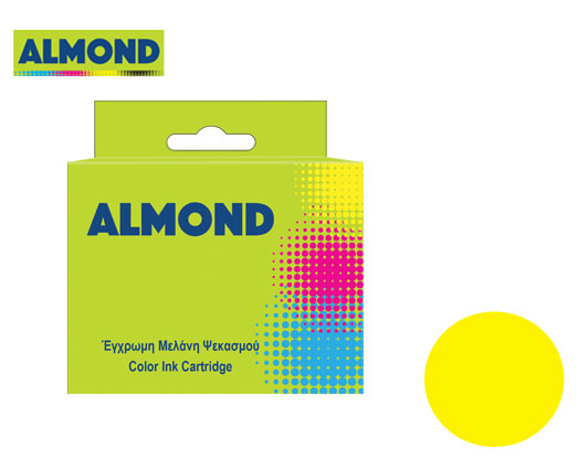ALMOND INK ΣΥΜΒΑΤΟ ΜΕ EPSON #T1814 YELLOW 11.5ml (N) #C13T18144012
