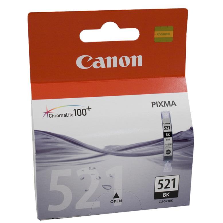 Μελάνι Canon CLI-521 black