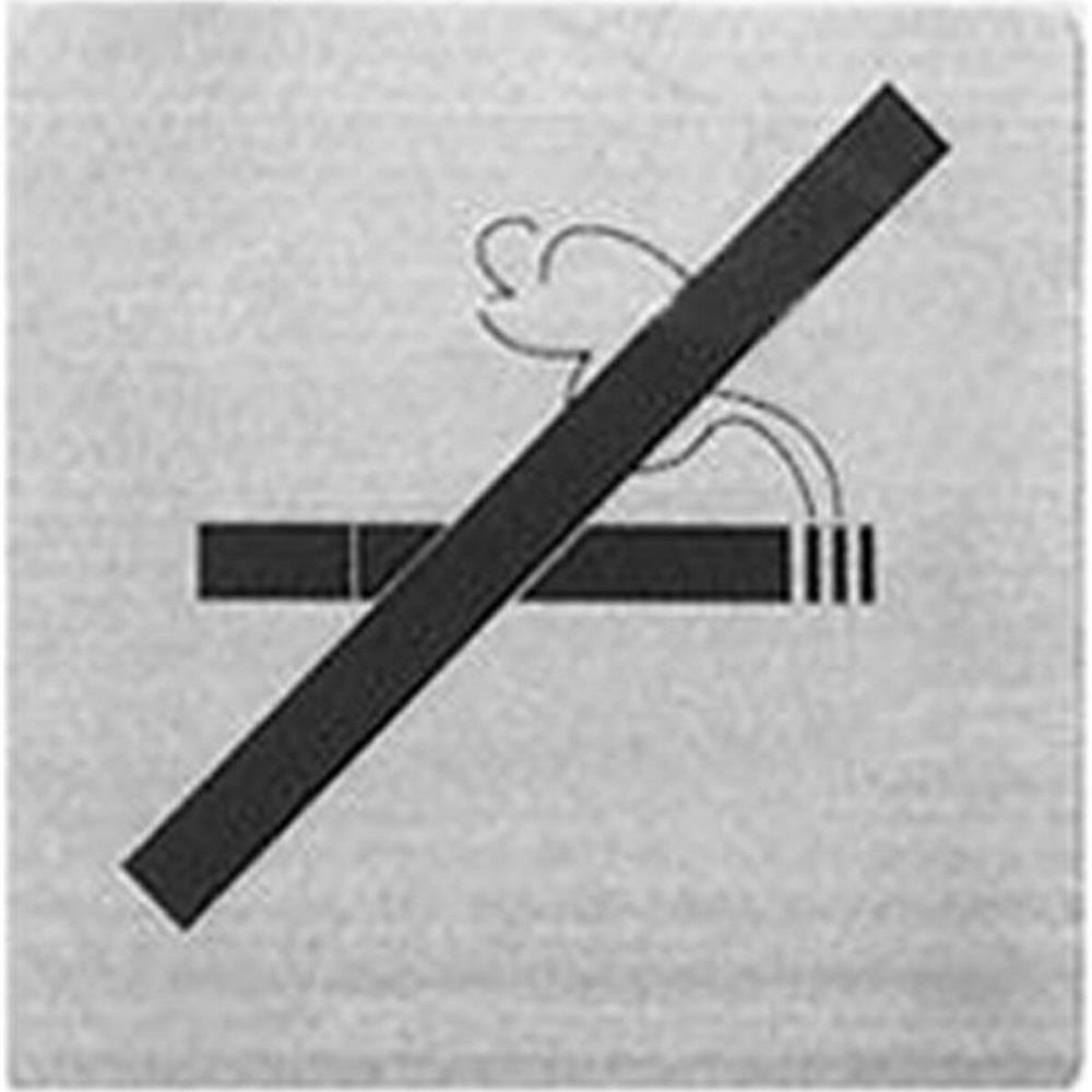 Πινακίδα inox Alco 450-13 No smoking