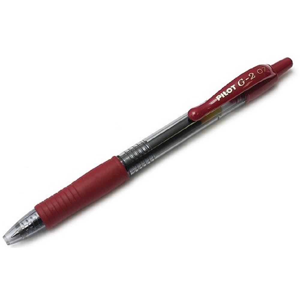 Στυλό Pilot g2 0,7 μπορντώ