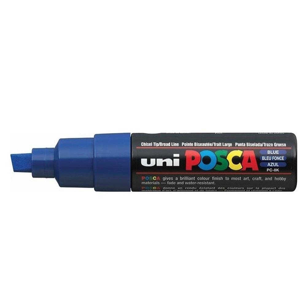 Μαρκαδόρος Uni posca PC-8K blue