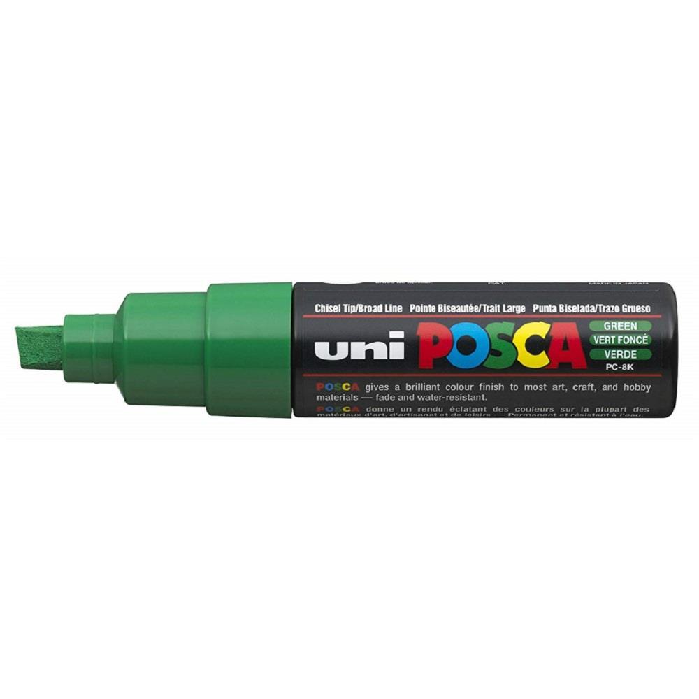 Μαρκαδόρος Uni posca PC-8K green