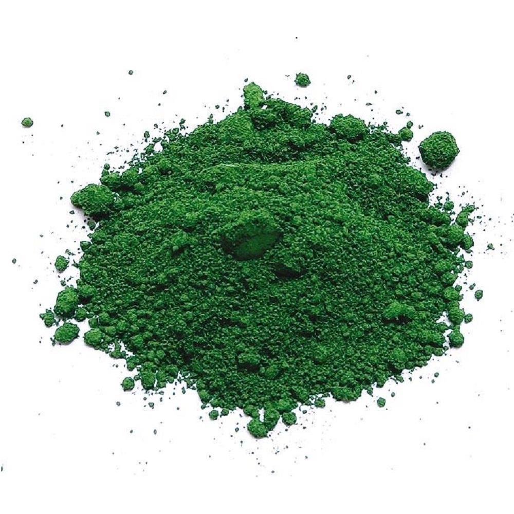 Σκόνη αγιογραφίας πράσινο κυπαρισσί 100gr