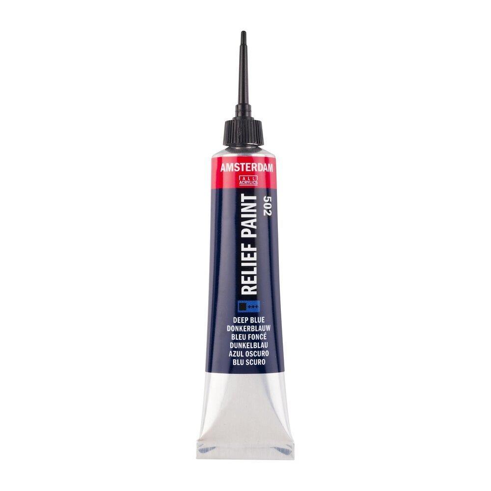 Περίγραμμα Relief Amsterdam 20 ml 502 μπλε