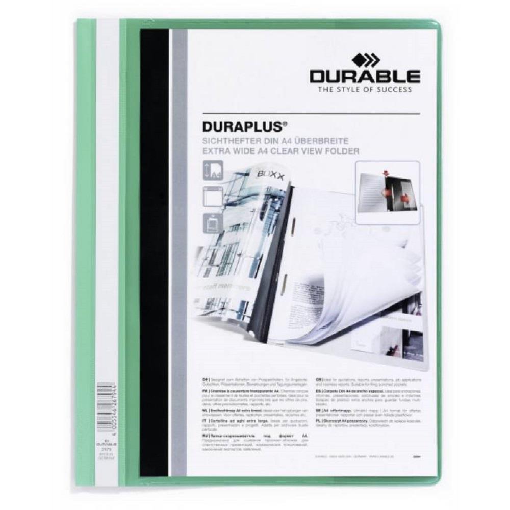 Ντοσιέ με έλασμα Duraplus 2579 πράσινο