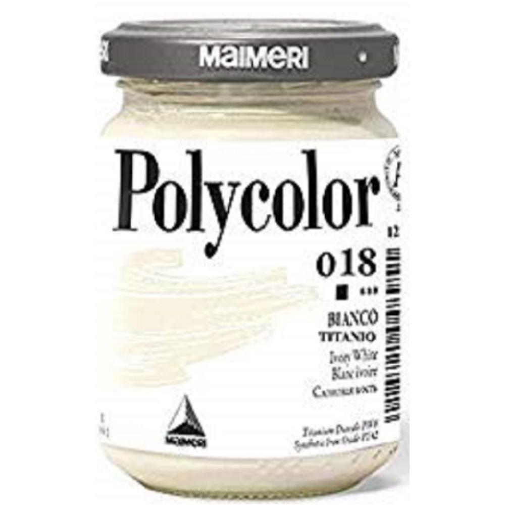 Ακρυλικό Maimeri Polycolor 140 ml 018 bianco