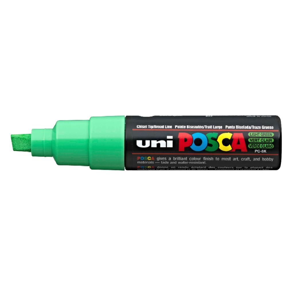 Μαρκαδόρος Uni posca PC-8K light green