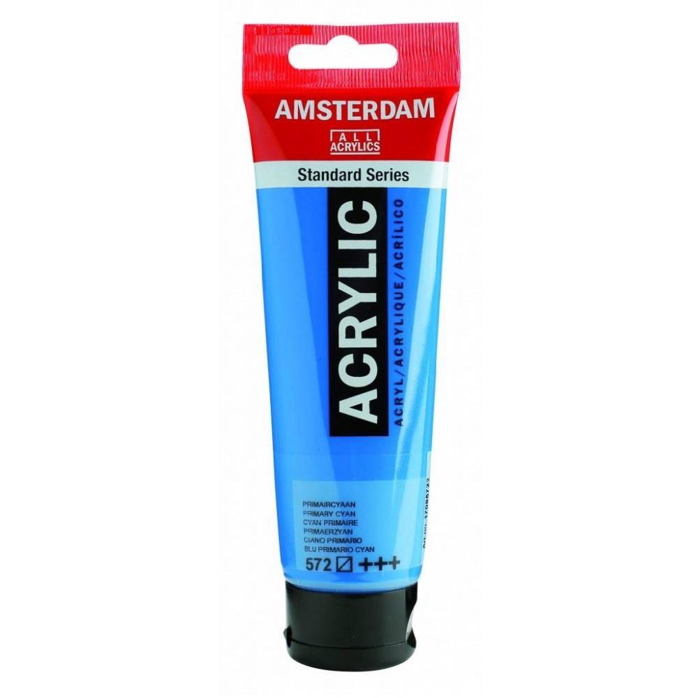 Ακρυλικό Amsterdam 120 ml 572 primary cyan