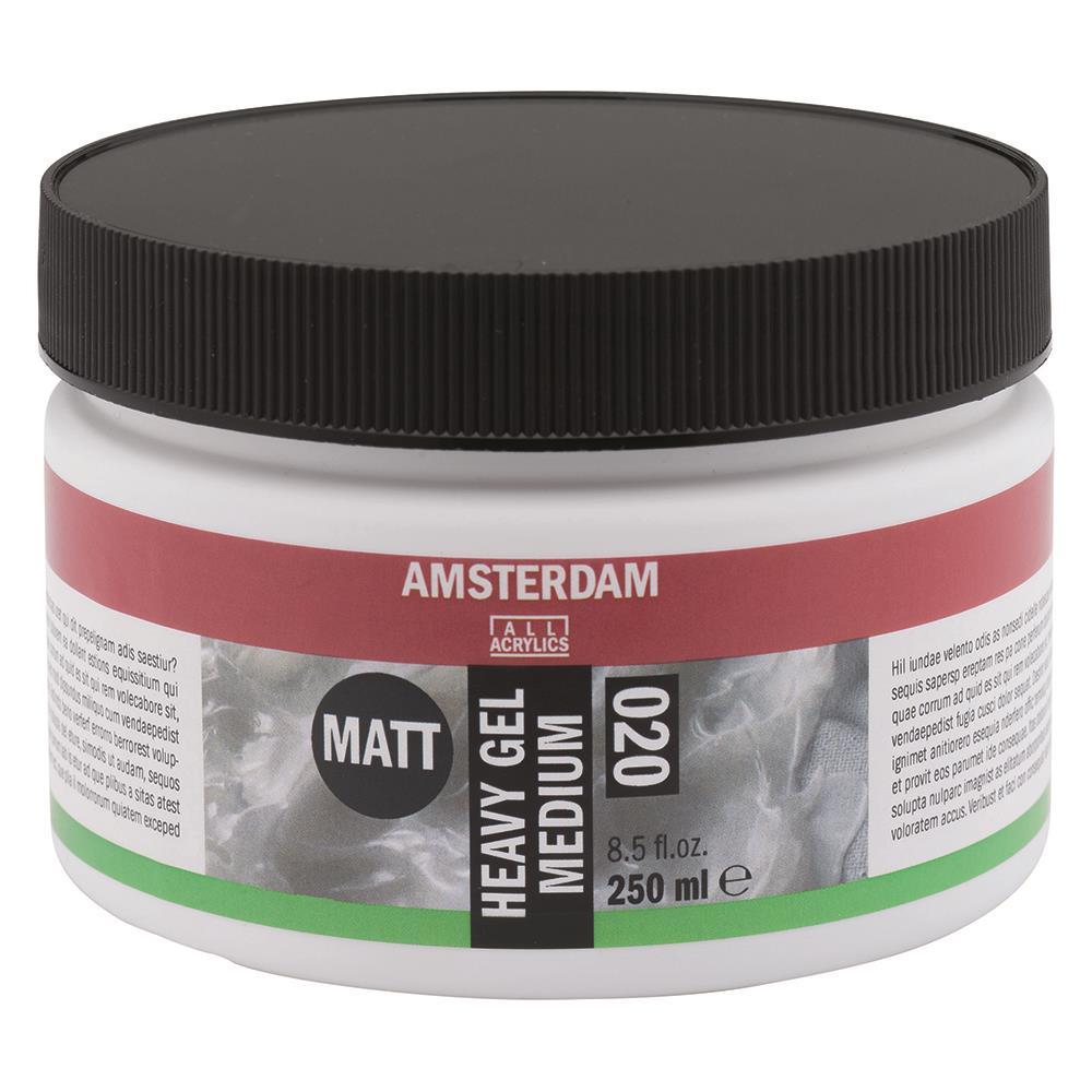 Gel medium Amsterdam 020 matt heavy