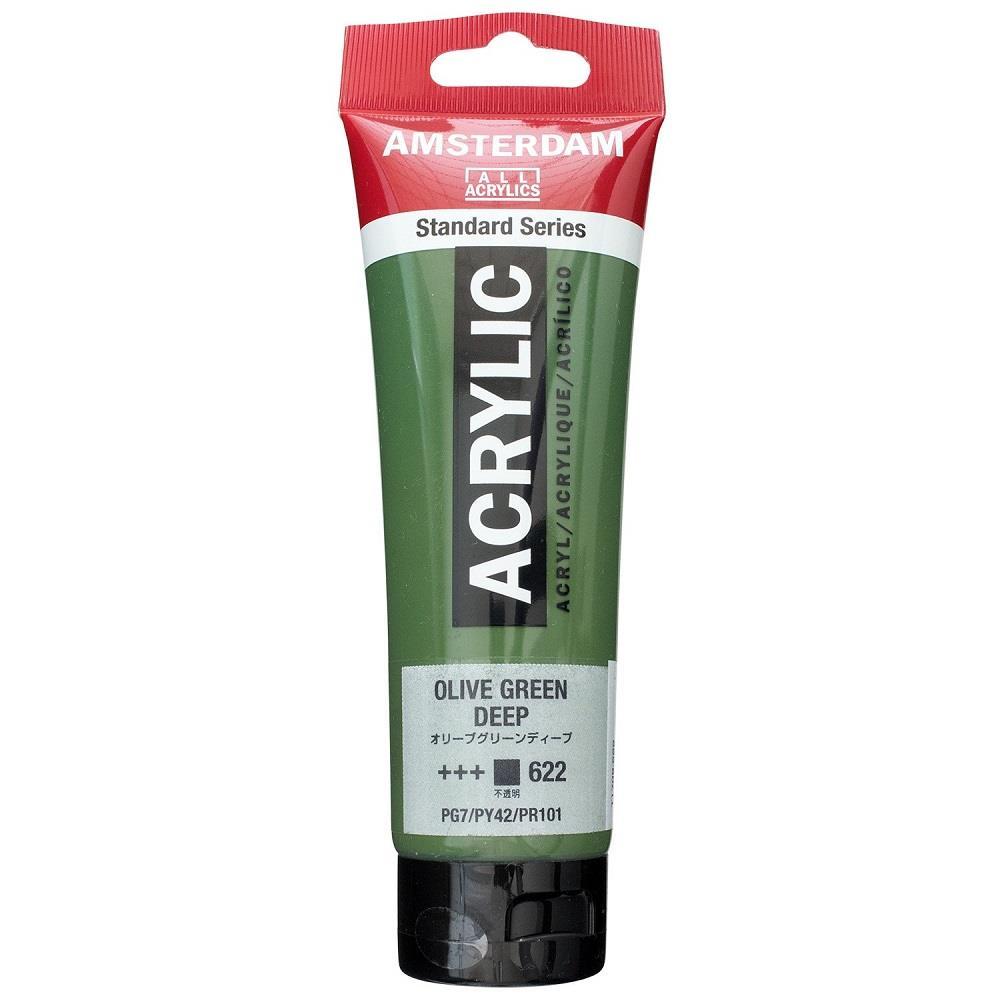 Ακρυλικό Amsterdam 120 ml 622 olive green deep