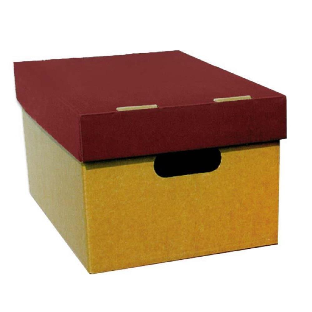 Κουτί αποθήκευσης Α3 4070 μπορντώ