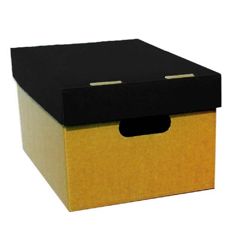 Κουτί αποθήκευσης Α4 4075 μαύρο