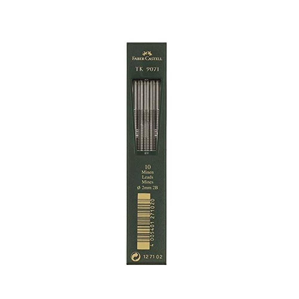Μύτες μολυβιού 2 mm Faber 2B