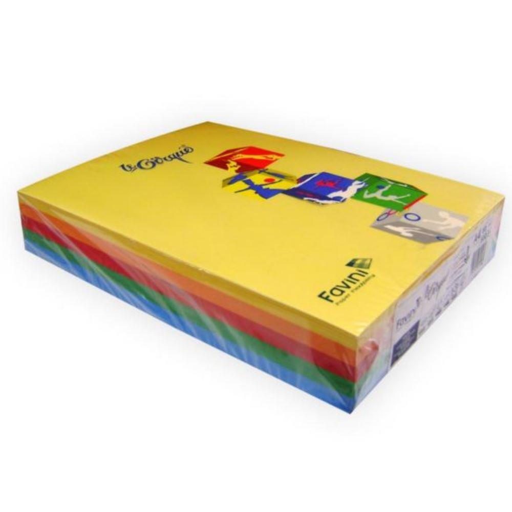 Χαρτονάκι Α4 Favini 160gr 250φ μιξ έντονα