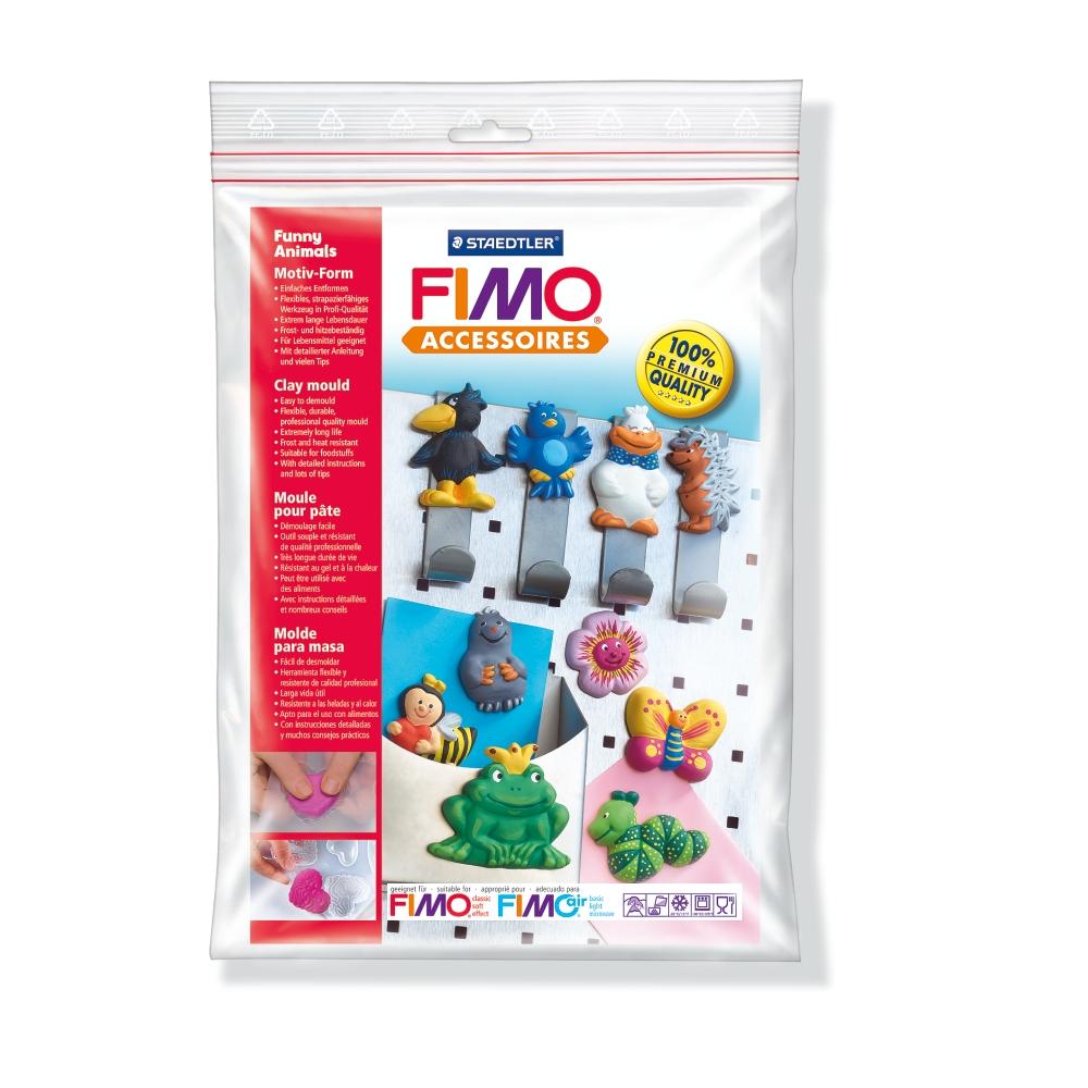 Καλούπι πηλού Fimo 8742-09 funny animals